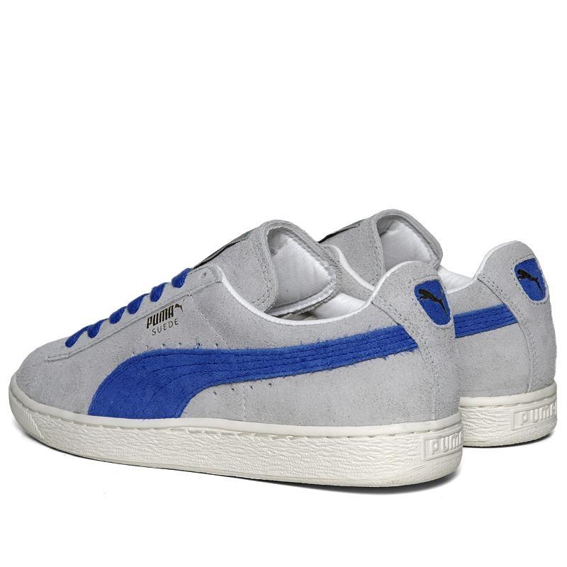 puma suede bleu gris