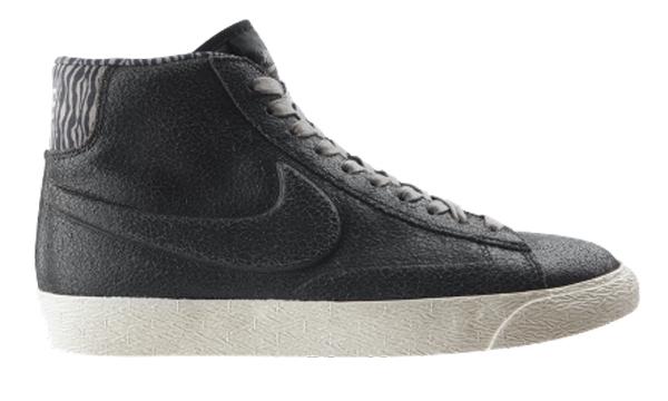 Nike Blazer Mid WMNS Black Anthracite Zebra - Le Site de la ...