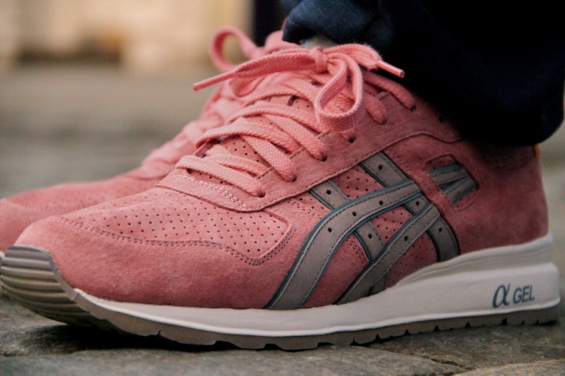 rose gold asics