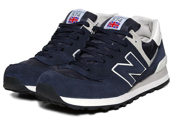 new balance 574 bleu gris