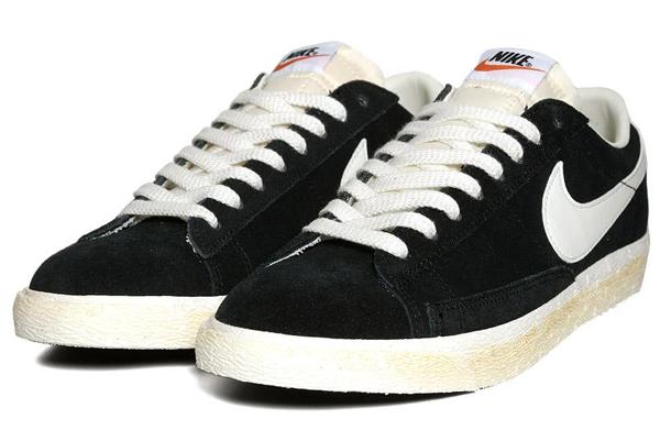 Nike Blazer Low PRM VNTG Black Sail - Le Site de la Sneaker