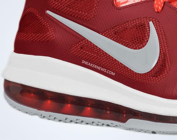 timeless design 94b87 8adb9 Nike LeBron 9 Low Team Red-Challenge Red-Wolf Grey - Le Site de la Sneaker