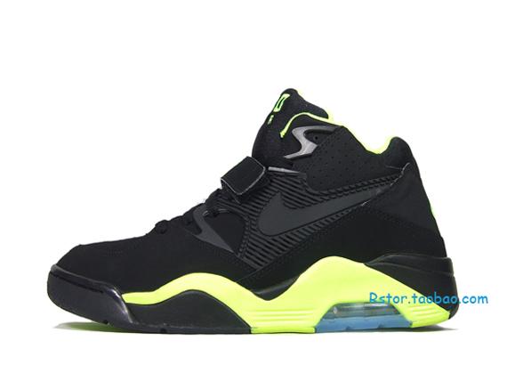 Nike Air Force 180 Black Volt Le Site de la Sneaker