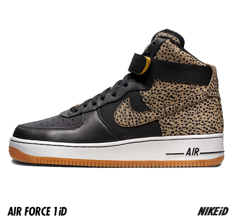 low priced a406d a605a Nike Air Force 1 iD Option Safari