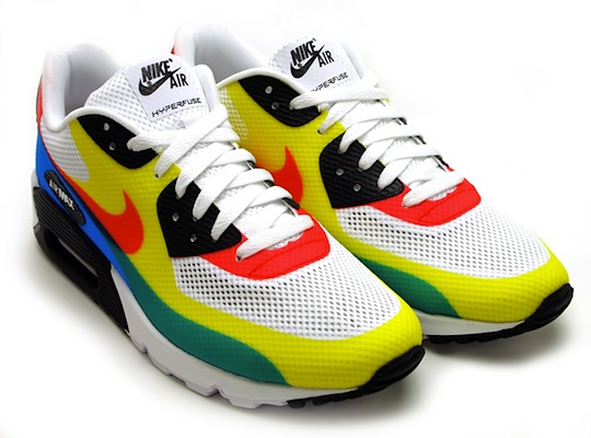 new product b2bd2 d37bc Nike Air Max 90 Hyperfuse QS Olympic