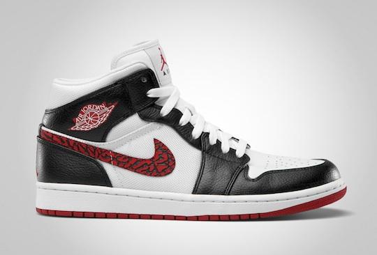Jordan High De La Phat Red White Le 1 Black Site Sneaker Varsity Air ZXiuPk