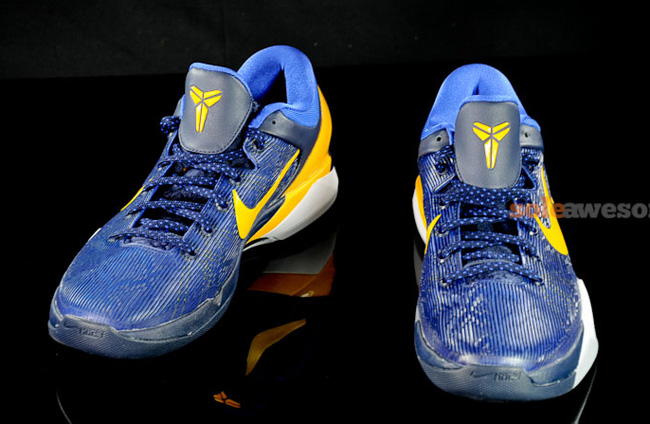 Kobe 7 blue and yellow