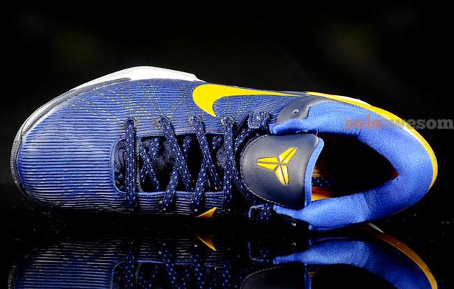 Kobe 7 blue and yellow