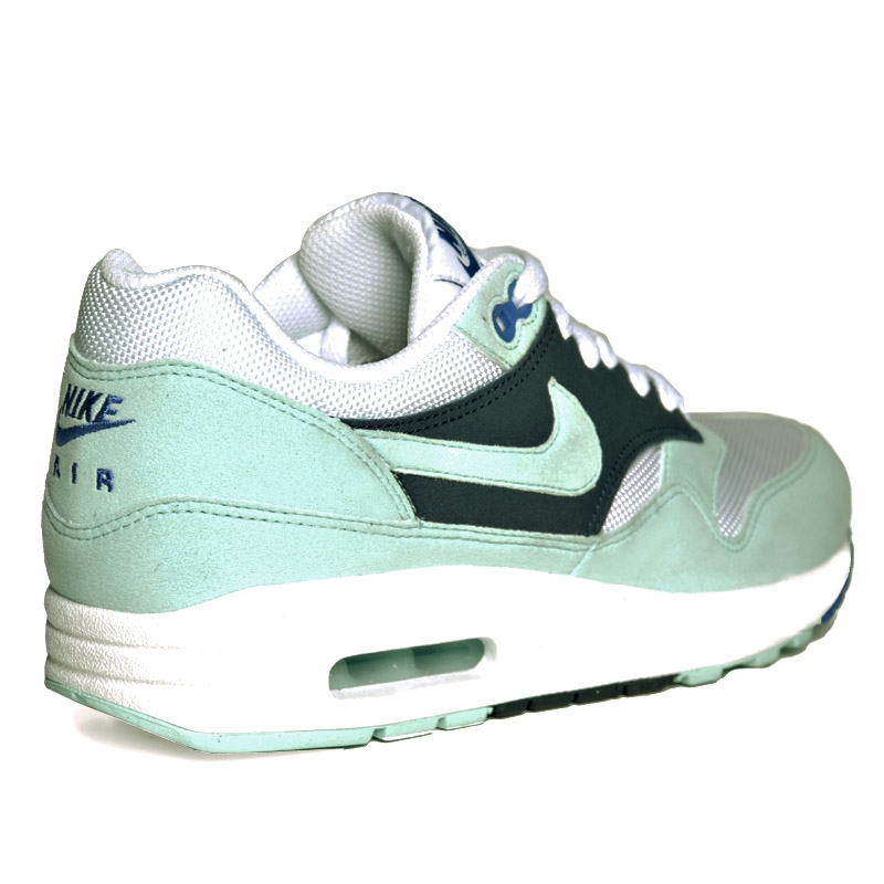 nike wmns air max 1 white mint candy obsidian le site de. Black Bedroom Furniture Sets. Home Design Ideas