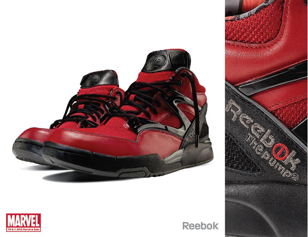 Marvel x Reebok Collection Ete 2012 Le Site de la Sneaker