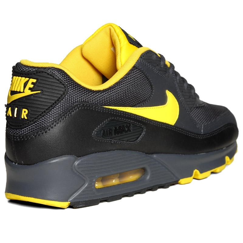 Nike Air Max 90 Anthracite Speed Yellow Black - Gov