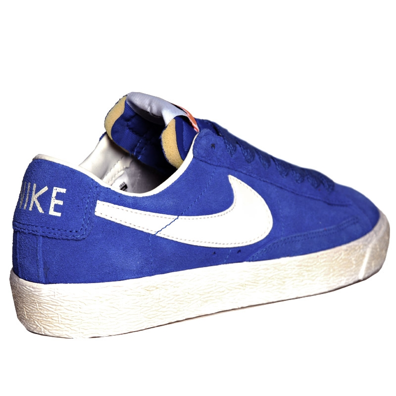 Nike Blazer Low Suede Vintage Game Royal Sail Le Site de