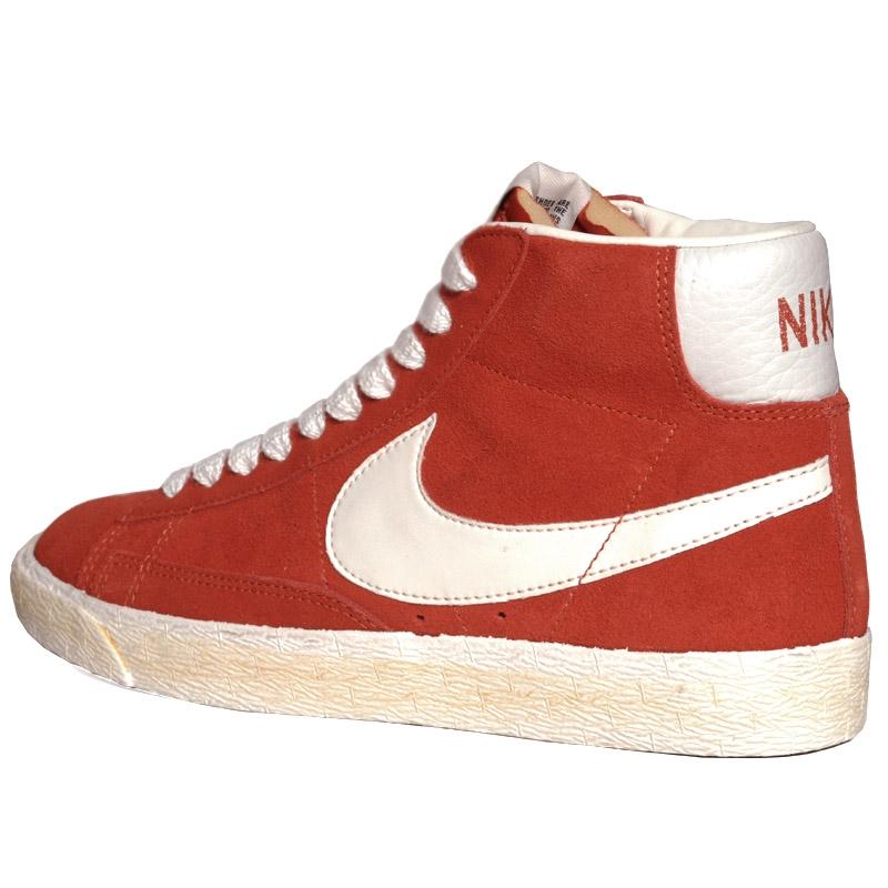 Vintage Mid Century Modern Desk Price Reduced: Nike Blazer Mid Suede Vintage Dragon Red Sail