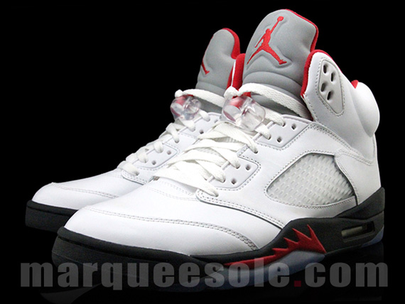 671b3ec6047227 Air Jordan V Fire Red - Le Site de la Sneaker