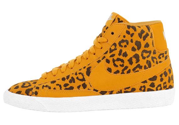 nike leopard