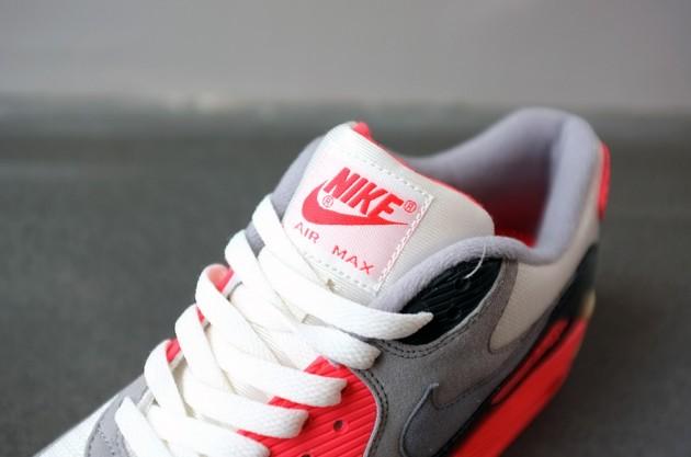 Nike Air Max 90 Infrared PRM Vintage Printemps 2013 Le