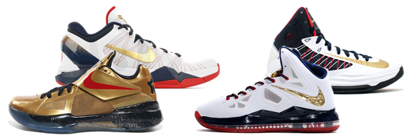 reputable site bad99 7e527 Nike Basketball Gold Medal Pack Release Dates