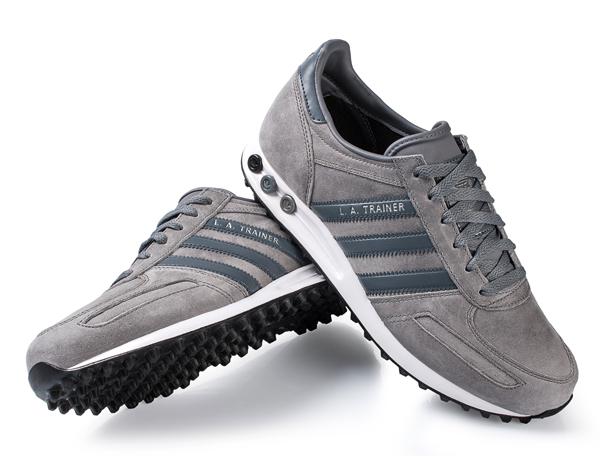 Adidas La Trainer Cuir Noir