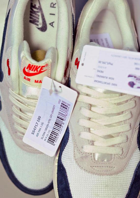 Air De Sneaker Navy Og 1 Vntg Nike Site Le La White Red Max 7vbgy6Yf