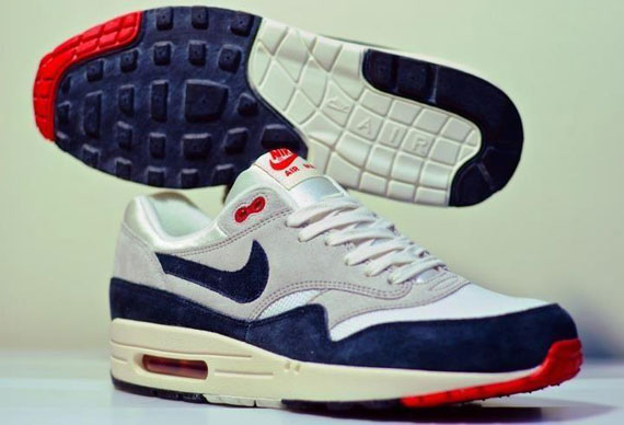 nike air max 1 blue navy