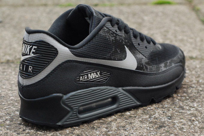 nike air max 90 hyperfuse black and grey