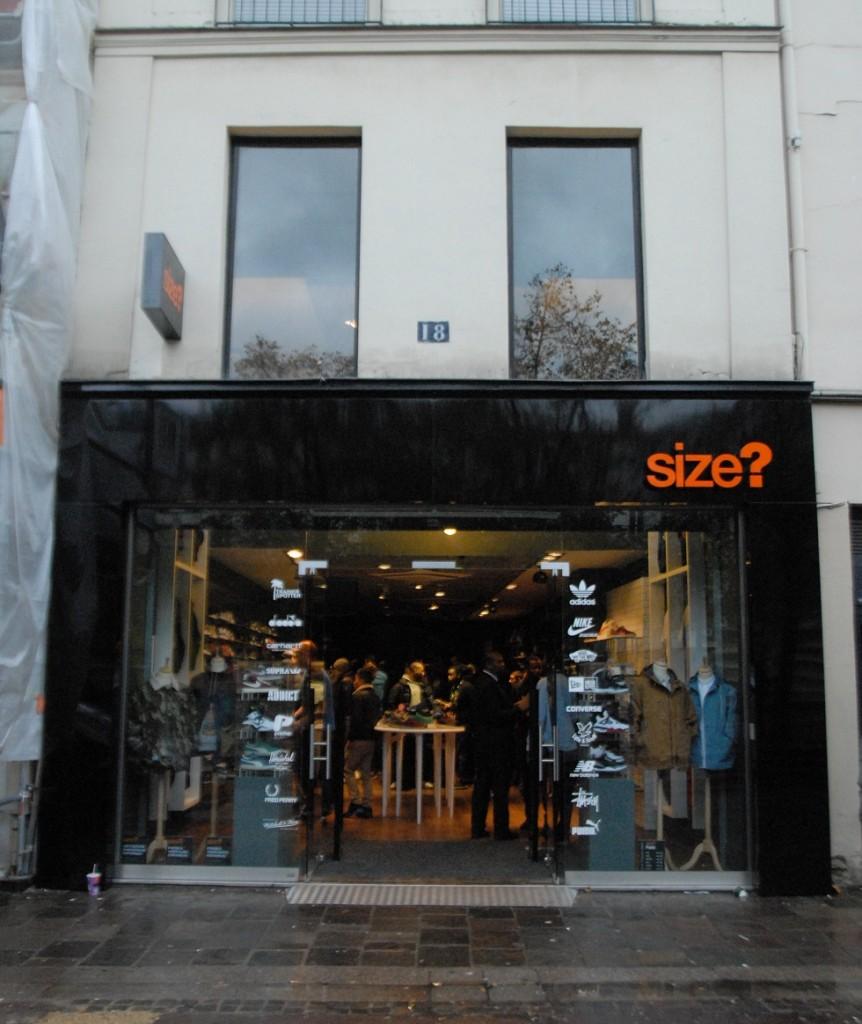La boutique de sneakers size va ouvrir chatelet le site de la sneaker - Magasin meuble chatelet ...