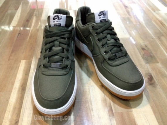 Le 1 Sneaker Low De Nike Force Site Air Olive X La Supreme kN8OnPwX0