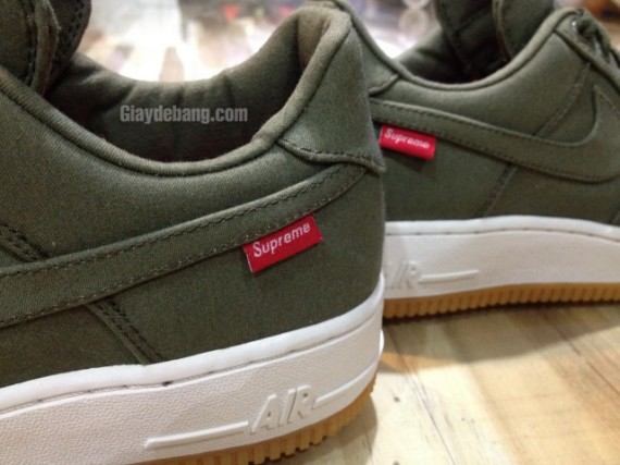 Sneaker Air Force 1 Supreme X Olive Le Site Nike La De Low sdQBxthrC