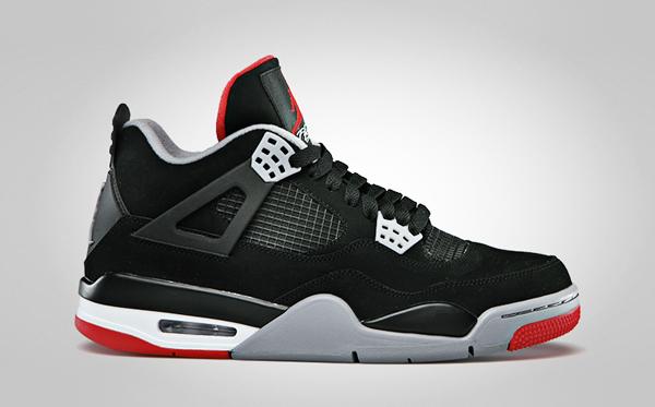 Air Jordan 4 Black Red