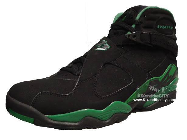 450924404e1777 ... amazon air jordan retro viii sugar ray allen p.e house of hoops  exclusive 32d9a b52ce
