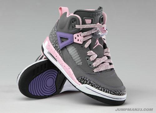 Air Jordan Spiz'ike GS Purple Earth