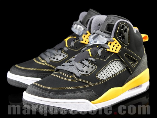c74420bbe432 Air Jordan Spiz ike Thunder - Release Air Jordan Spiz ike Black Yellow