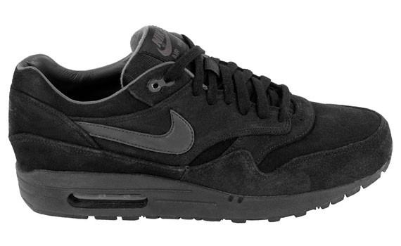 nike air max 1 premium noir/gris anthracite outdoor