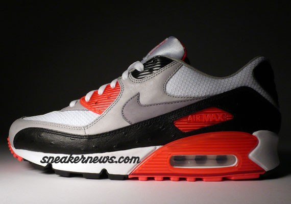 chaussures de séparation 11981 43213 Preview Nike Air Max 90 Infrared Premium - Le Site de la Sneaker