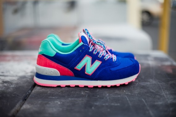 new balance femme tricolore