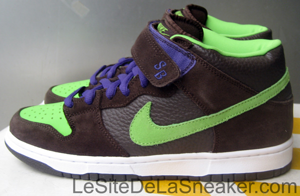 the best attitude b5db3 29615 CLOSE UP Nike dunk mid pro SB Donatello