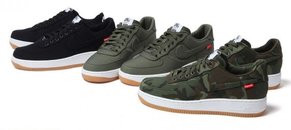 Supreme x Nike Air Force 1 Low Release Date Le Site de la