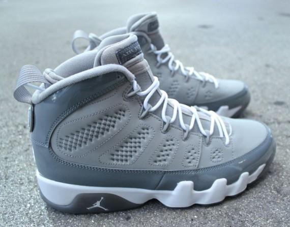 Air Jordan 9 Cool Grey