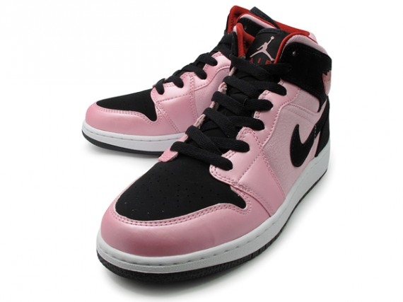 edfd9d0848c2 ... australia air jordan 1 mid gs coloris ion pink black gym red white  style 555112 608