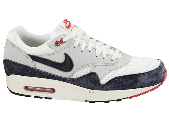 White Sneaker De 1 Navy Site Red Og Le Nike Max Air La 4RL5Ajq3