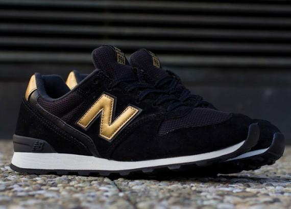 new balance 996 gold et noir