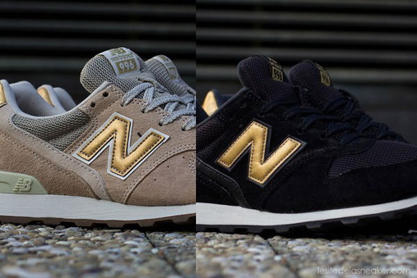 new balance grise et gold