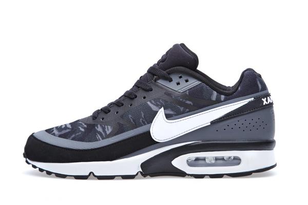 Nouvelles promotions Nike air max bleu et noir 6PM86