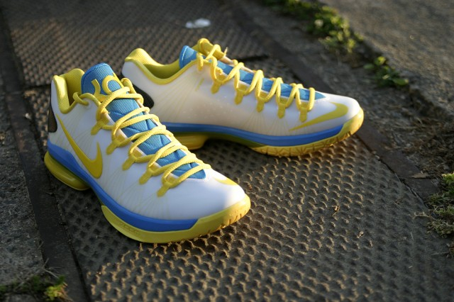 low priced be341 81ff6 Nike KD V Elite Playoffs Home