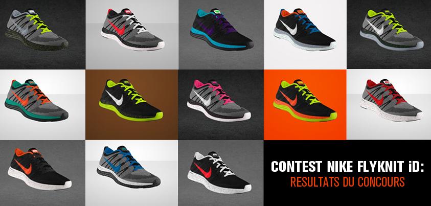 La Id Du De Résultats Le Concours Sneaker Nike Site Flyknit QshrdCt