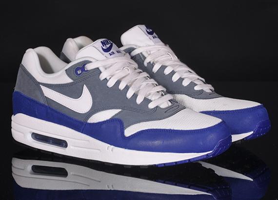 Nike Air Max 1 Essential Deep Royal Blue White