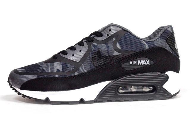 nike air max camouflage black