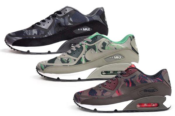 wholesale dealer b8f54 265b0 Nike Air Max 90 PRM Tape Camo Pack - Le Site de la Sneaker
