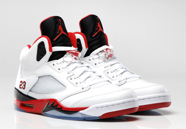 nouveau style a889a d2ca2 Air Jordan 5 Fire Red