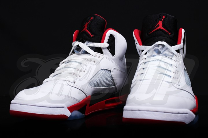 new style 0cf83 26132 Air Jordan 5 Fire Red
